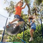 Multiple jumpers increase risk for 'trampoline ankle'