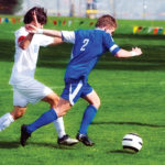Weak hip extensors contribute to ankle sprains in soccer players